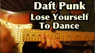 Lose Yourself To Dance – guitar